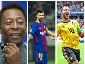De meest legendarische nummers 10 uit de voetbalgeschiedenis