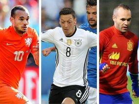 Een zomer vol afscheid: deze spelers zwaaiden af bij hun nationale ploeg