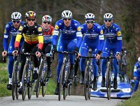 Rien ne peut l'arrêter : l'équipe Deceuninck-Quick Step affiche une fois de plus une supériorité insolente