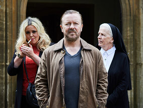 Ricky Gervais' After Life: ontroerend, grappig en droevig
