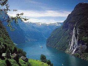 La Norvège du sud au nord