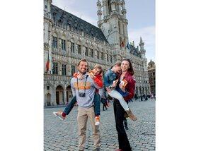 Op stap met de kinderen in Brussel
