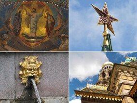 De culturele rijkdom van Moskou en Sint-Petersburg