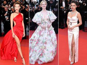 Gros plan sur le tapis rouge des stars à Cannes