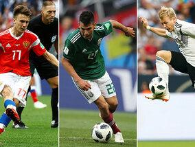 10 talenten om in het oog te houden op dit WK