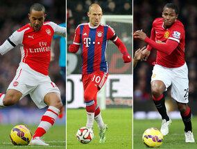De 10 snelste voetballers ter wereld