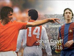Johan Cruyff, mort d'une légende