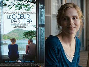Rencontre avec Isabelle Carré, qui trouve la lumière dans 'Le Coeur régulier'