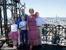 Het zomerse uitstapje van Koning Filip en zijn gezin