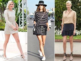 Mini-robe ou mini-jupe, c'est la tendance de l'été