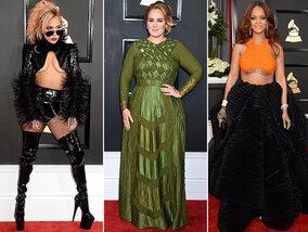 Le tapis rouge des Grammy Awards