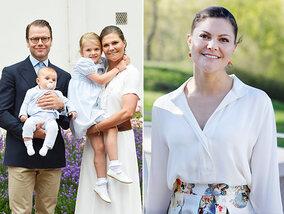 Les 40 ans radieux de la princesse Victoria de Suède