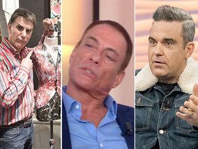 Tex viré, Jean-Claude Van Damme fidèle à lui-même, Robbie Williams souffre d'une mystérieuse maladie