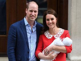 De eerste foto's van de royal baby