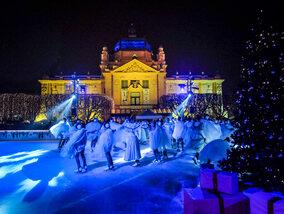 Merveilleuse Zagreb et les fêtes de l'Avent