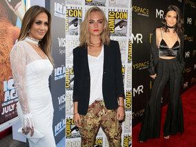 Cara s'envoie en l'air, Kendall zappe les soutiens-gorge et J-Lo, bomba latina à 47 ans !