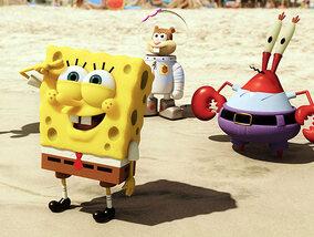 De tekenfilmlegende die Spongebob heet