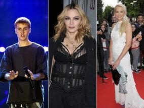 Madonna promet une gâterie aux pros-Clinton et Elodie Gossuin n'est pas un homme !