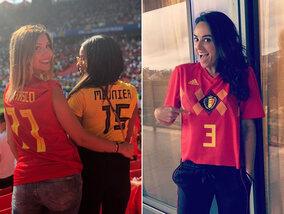 Het WK door de ogen van de vriendinnen van de Rode Duivels