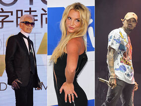 Britney embrase le net, Karl Lagerfeld est bizarre et Chris Brown menace de mort son ex !