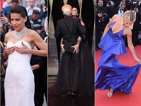 Oeps-momentjes in Cannes: nipple slips, blote billen en struikelende sterren!