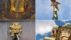 Les richesses culturelles de Moscou et St-Pétersbourg