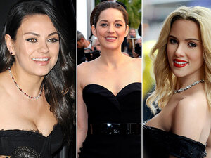 De 10 heetste actrices van Hollywood