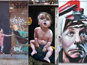 Les plus belles fresques murales vue par Google Street View