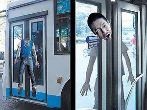 Les pubs les plus drôles sur le bus