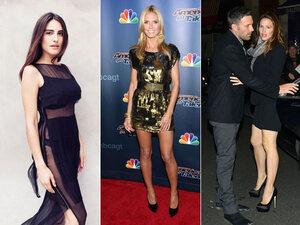 Heidi sexy Klum, la bombe d'Orlando Bloom et Ben Affleck divorce