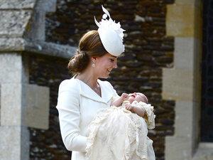 Le baptême de la princesse Charlotte