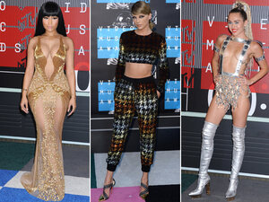 Le tapis rouge des MTV Music Awards