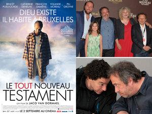 Le Tout Nouveau Testament : rencontre avec Jaco Van Dormael et Thomas Gunzig pour la sortie du film