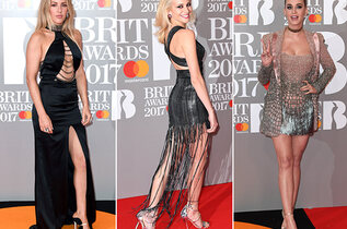 Le tapis rouge des Brits Awards