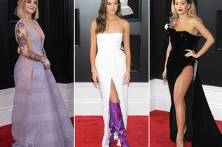 Le tapis rouge des Grammy Awards