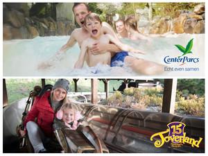 Win een weekend naar Center Parcs Het Meerdal met toegang tot Attractiepark Toverland!