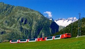 France, Allemagne et Suisse à bord d'une croisière unique et du train mythique Glacier Express
