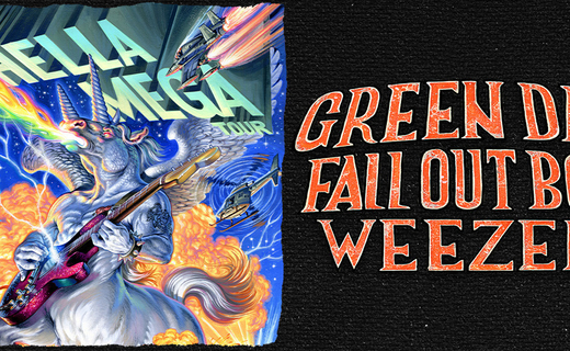 The Hella Mega Tour : Green Day – Fall Out Boy – Weezer