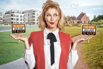 Speeddaten met huizen in 'Waar voor je Geld': eerst wonen, dan kopen!