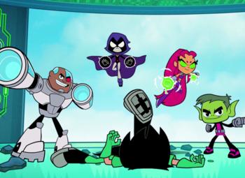 Teen Titans Go : nouveaux épisodes sur Cartoon Network