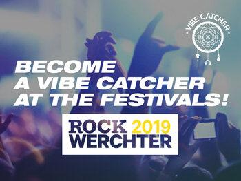 Word vibe catcher op Rock Werchter 2019!
