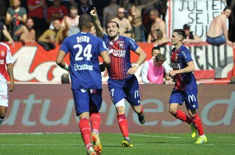 Monaco onderuit in belangrijk duel tegen Caen