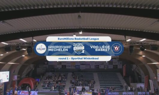 Samenvatting Kangoeroes Mechelen - Liège Basket