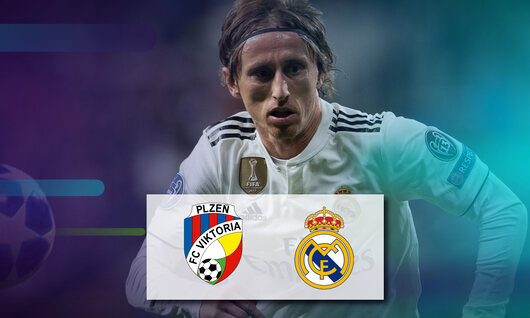 Viktoria Plzen - Real Madrid