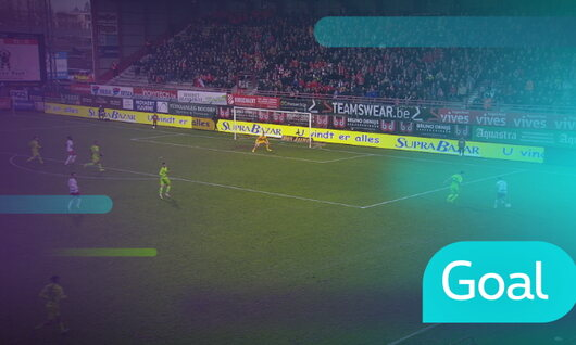 Goal: Courtrai 3 - 2 Zulte-Waregem : 73', Mboyo