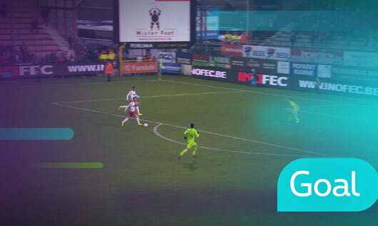 Goal: Courtrai 4 - 2 Zulte-Waregem : 89', Chevalier