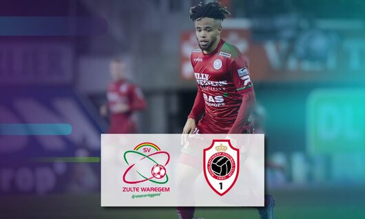 SV Zulte Waregem - Royal Antwerp