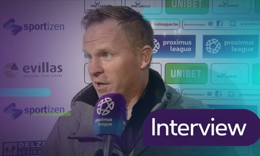 Interviews AFC Tubize - Malines (Malines)
