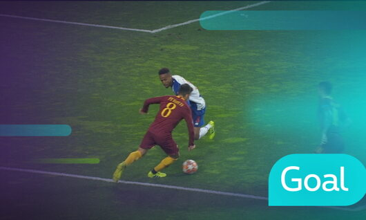 Penalty: FC Porto 1 - 1 AS Roma 36' De Rossi
