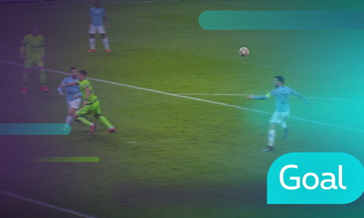 Penalty: Manchester City 1 - 0 Schalke 04 35' Aguero